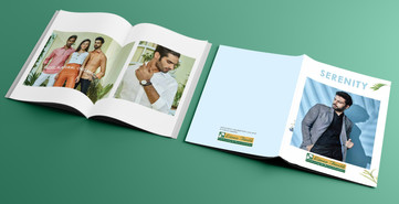 Look Book Design for Linen Fiesta