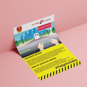 Flyer Design for Aditya Birla Ultratech Cement