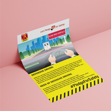 Flyer Design for Aditya Birla Ultratech Cement