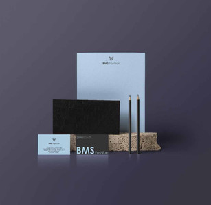 Logo and Stationery design for BMS Fashions