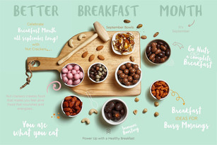 Campaign Design for food brand - The Nut Crackers Mumbai
