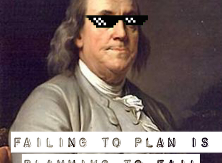 The Importance of a Social Media Content Calendar - and other reasons why Ben Franklin was an OG