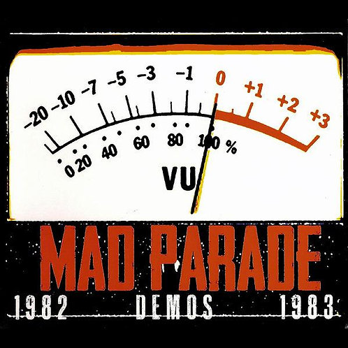 MAD PARADE 1982 DEMOS CD