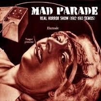 "Mad Parade demo's ""black vinyl"""