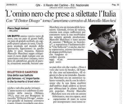Rassegna Stampa di 6 articoli di Marcello Marchesi