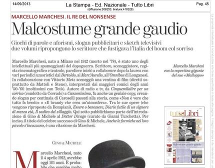 Rassegna Stampa di 4 di libri di Marcello Marchesi