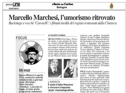 Marcello Marchesi, l'umorista ritrovato
