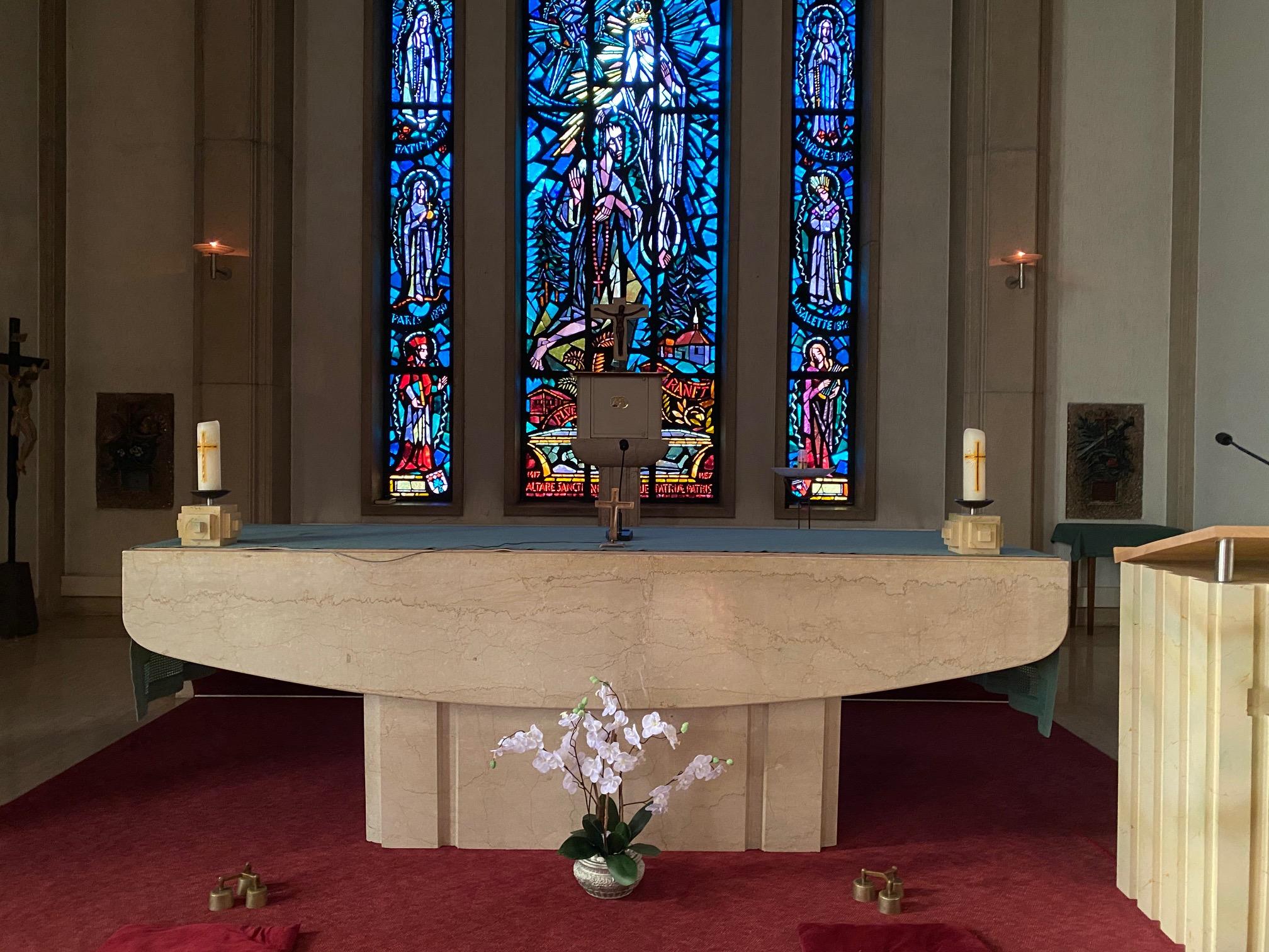Altar Bruderklaus-Kapelle