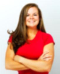 katie mack personal trainer portrait