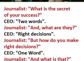 Is succes een keuze?