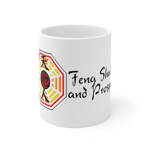 Feng Shui and Prosper Ceramic Mug 11oz