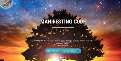 manifesting code