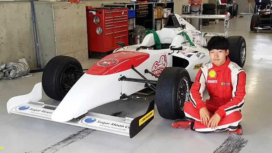 FIA-F4 2016 第11戦&第12戦 リー・ジョンウ