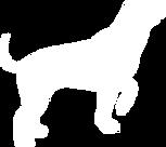 White Dog Silhouette Clip Art