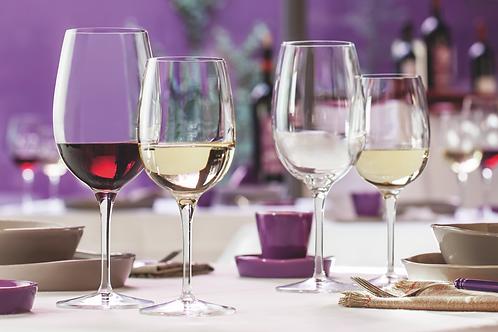 Copas Alemanas para vino blanco y tinto