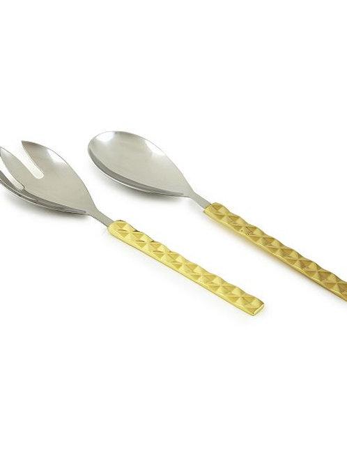 Piezas para servir de metal