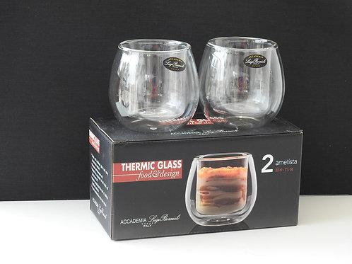 Vasos térmicos de vidrio