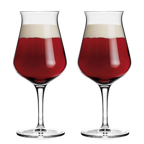 Copa italiana para cerveza