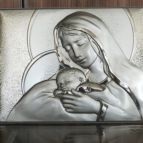Imagen de la Virgen María con santo niño