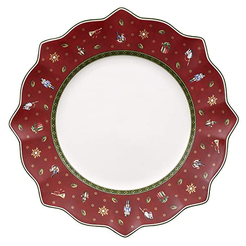 Dinner Plate : Red