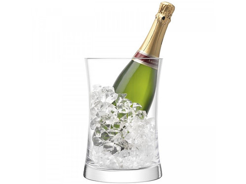 Moderno set de hielera de 6 copas para champagne