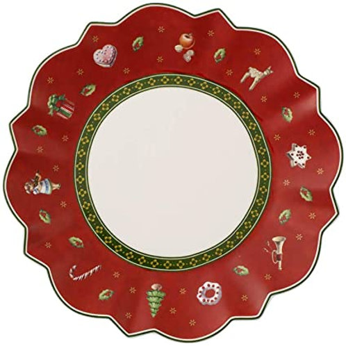 Bread & Butter Plate : Red