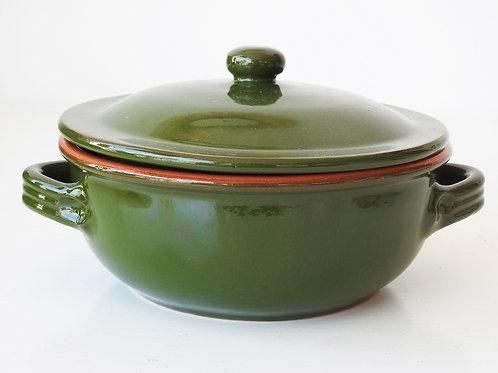 Cacerola de cerámica con tapadera