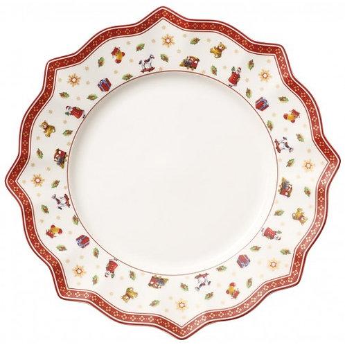 Dinner Plate : White