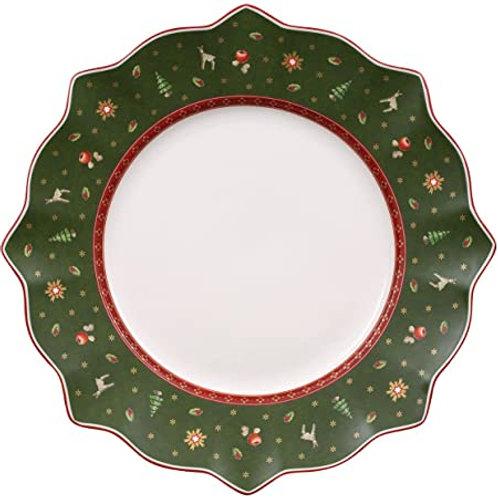 Dinner Plate : Green