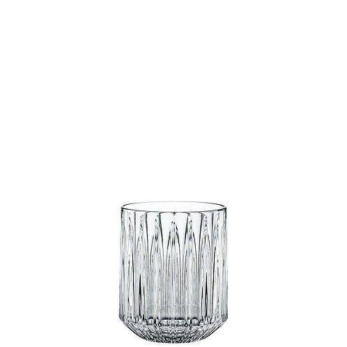 Vaso bajo de vidrio