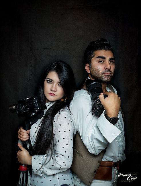Fotografos Brayan Arreola y Leslie Arreola
