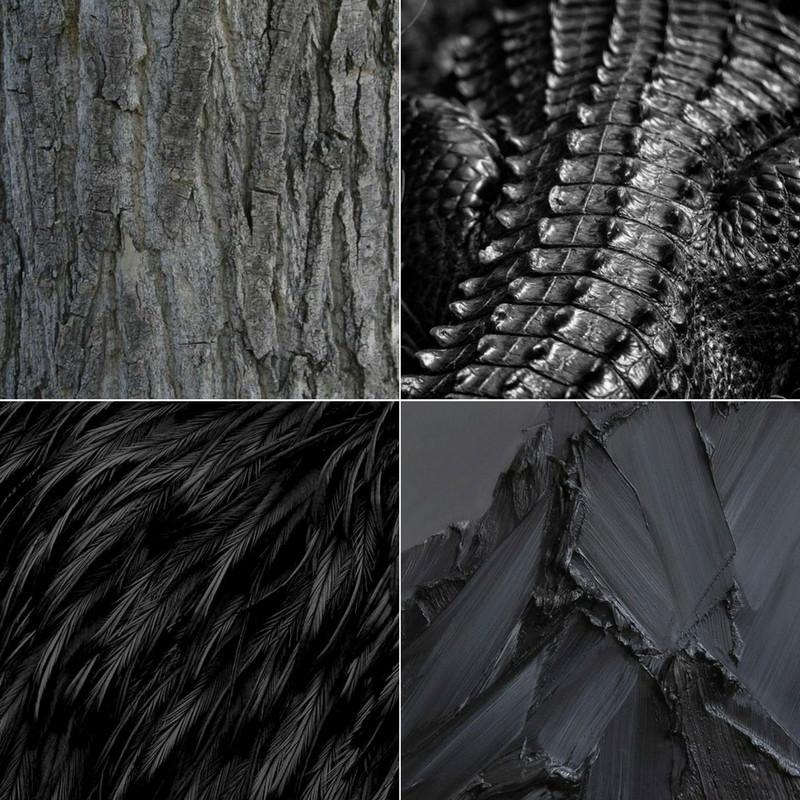 Black Texture Board