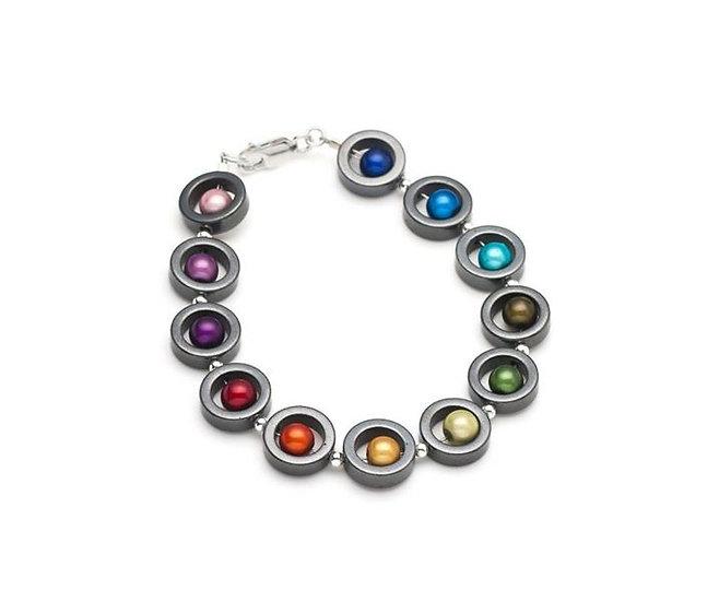 Harlequin Round Bracelet