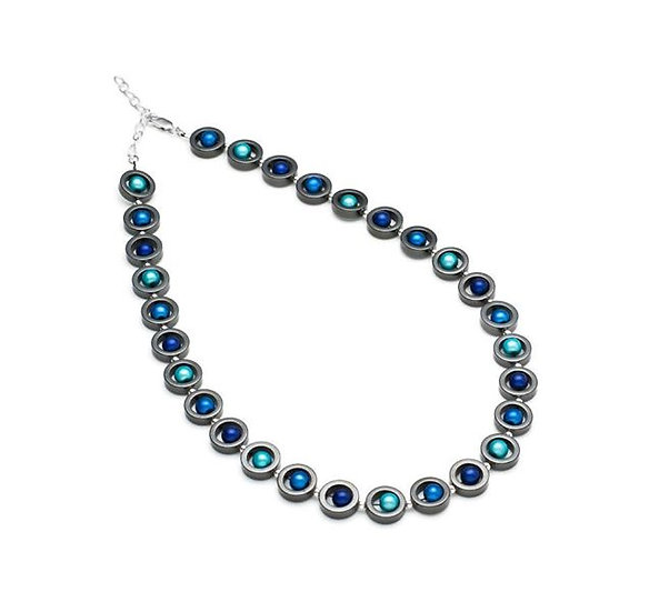 Harlequin Round Necklace