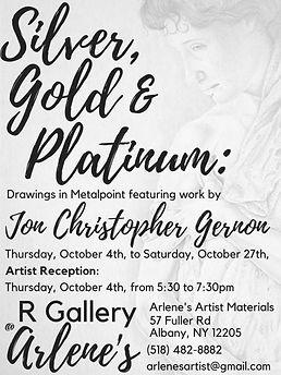 Silver, Gold & Platinum_ Drawings in Met