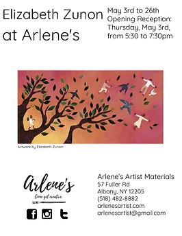 Elizabeth Zunon at Arlene's Poster.png