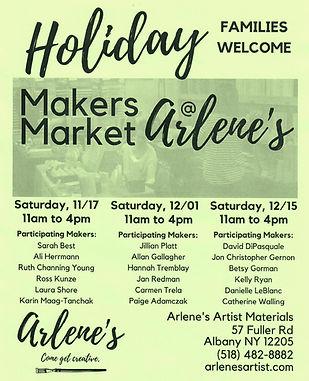 Holiday Makers Market at Arlenes  2018 P