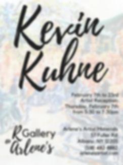 Kevin Kuhne at Arlene's Poster COLOR.jpg