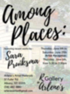 Among Places recent work by Sara Pruiksm