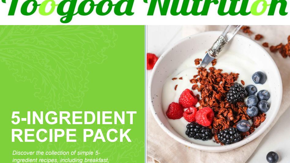 5 Ingredients Recipe Pack