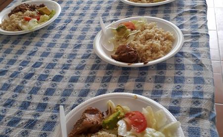 Almuerzo Colegio Saint Peter