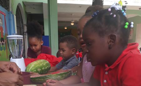 Dia de la alimentacion en Colegio Saint Peter