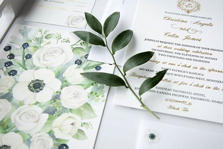 testimonial of Custom Wedding Invitations