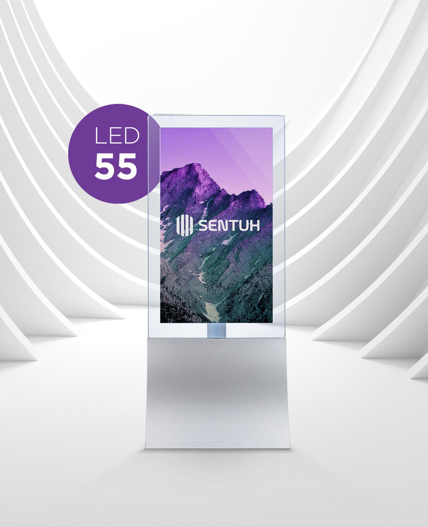 The Salesman Double Sided | Digital Signage 55