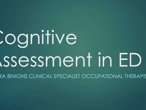 GEM Teaching: Cognitive Assessment in ED