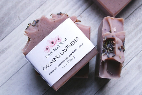 Calming Lavender Artisan Soap