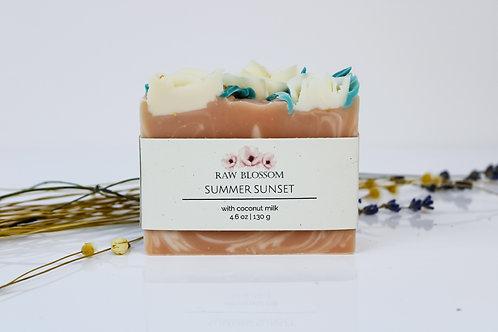 Summer Sunset Artisan Soap