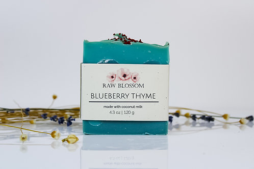Blueberry Thyme Artisan Soap