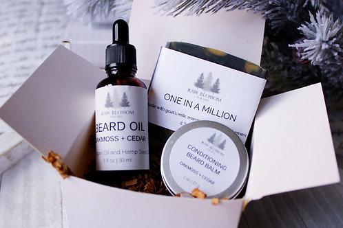 Beard care gift set for Him