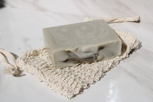Natural Exfoliating Soap Pouch